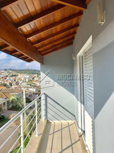 Sacada da Suíte - Casa em Condomínio 3 quartos à venda Itatiba,SP - R$ 700.000 - FCCN30323 - 17