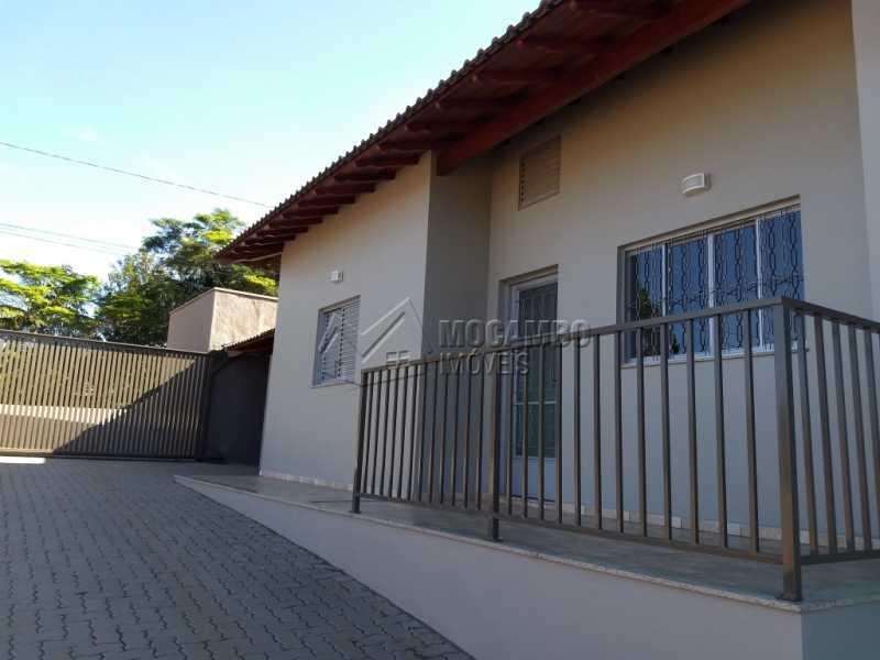 Fachada - Casa 2 quartos para alugar Itatiba,SP - R$ 1.100 - FCCA20945 - 1