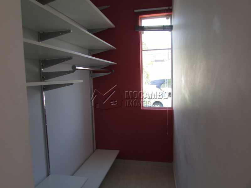 Closet - Casa À Venda no Condomínio Itatiba Country Club - Residencial Fazenda Serrinha - Itatiba - SP - FCCN50018 - 15