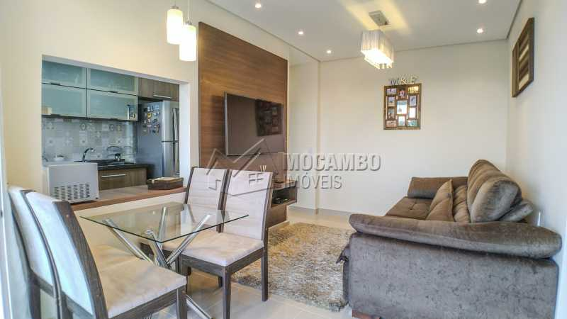 Sala - Apartamento 2 quartos à venda Itatiba,SP - R$ 345.000 - FCAP20725 - 4