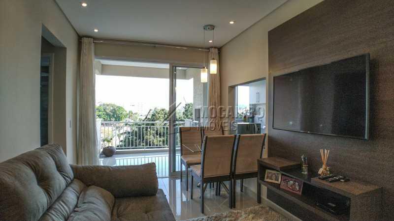 Sala - Apartamento 2 quartos à venda Itatiba,SP - R$ 345.000 - FCAP20725 - 1