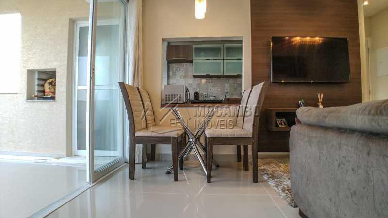 Sala - Apartamento 2 quartos à venda Itatiba,SP - R$ 345.000 - FCAP20725 - 5