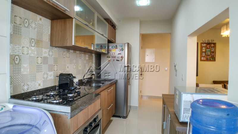 Cozinha planejada - Apartamento 2 quartos à venda Itatiba,SP - R$ 345.000 - FCAP20725 - 7