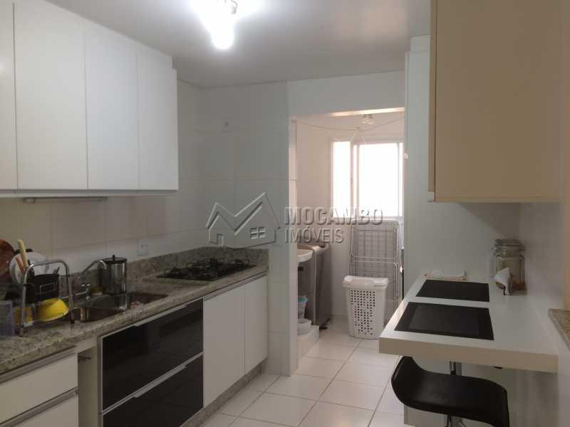 Cozinha/Lavanderia - Apartamento 3 Quartos À Venda Itatiba,SP - R$ 590.000 - FCAP30415 - 3