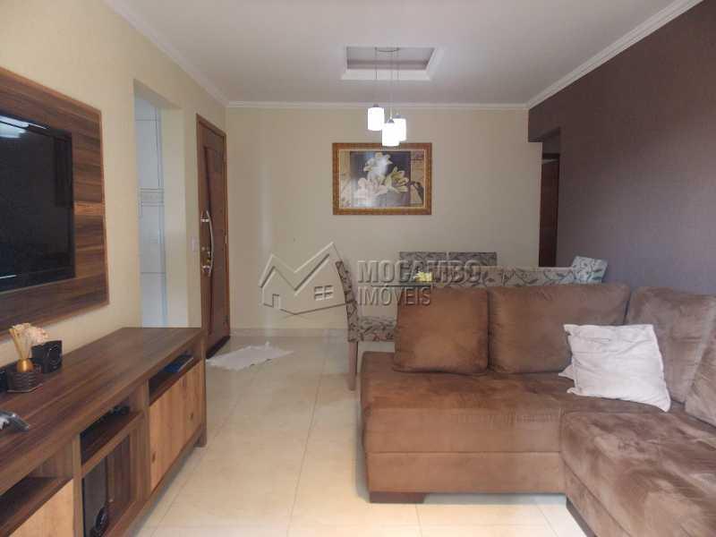 Sala de estar - Apartamento 3 quartos à venda Itatiba,SP - R$ 250.000 - FCAP30416 - 1
