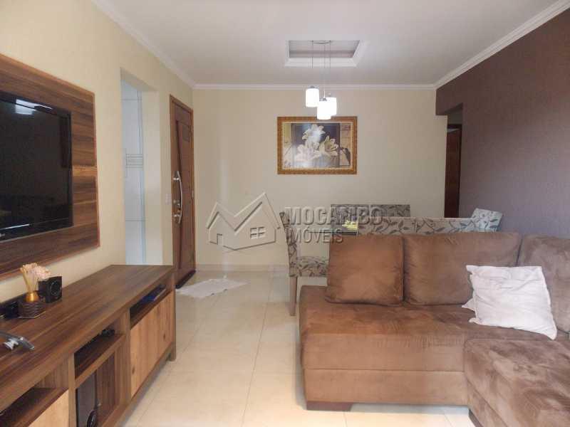 Sala de estar - Apartamento 3 quartos à venda Itatiba,SP - R$ 250.000 - FCAP30416 - 7