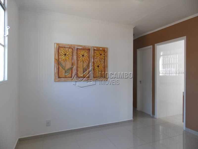 Sala - Apartamento À Venda - Itatiba - SP - Núcleo Residencial João Corradini - FCAP20730 - 1