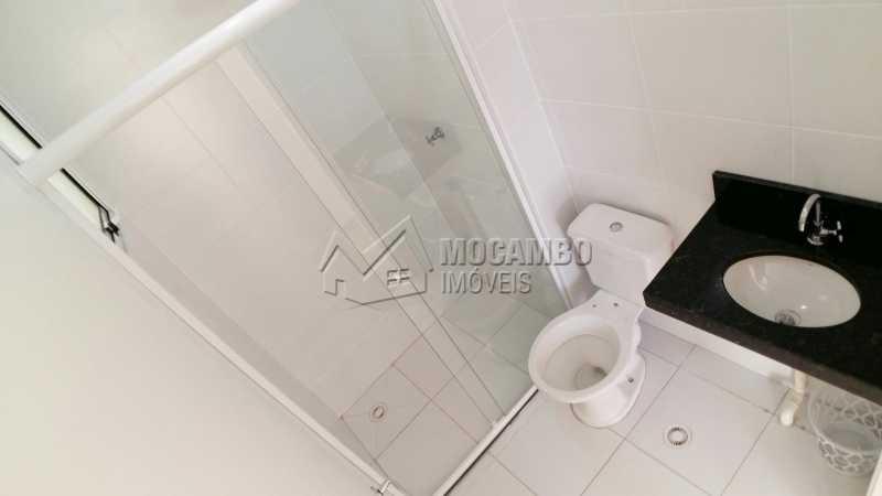 Banheiro Social - Apartamento em condomínio Para Venda e Aluguel - Condomínio Mirante de Itatiba I - Itatiba - SP - Loteamento Santo Antônio - FCAP20736 - 8