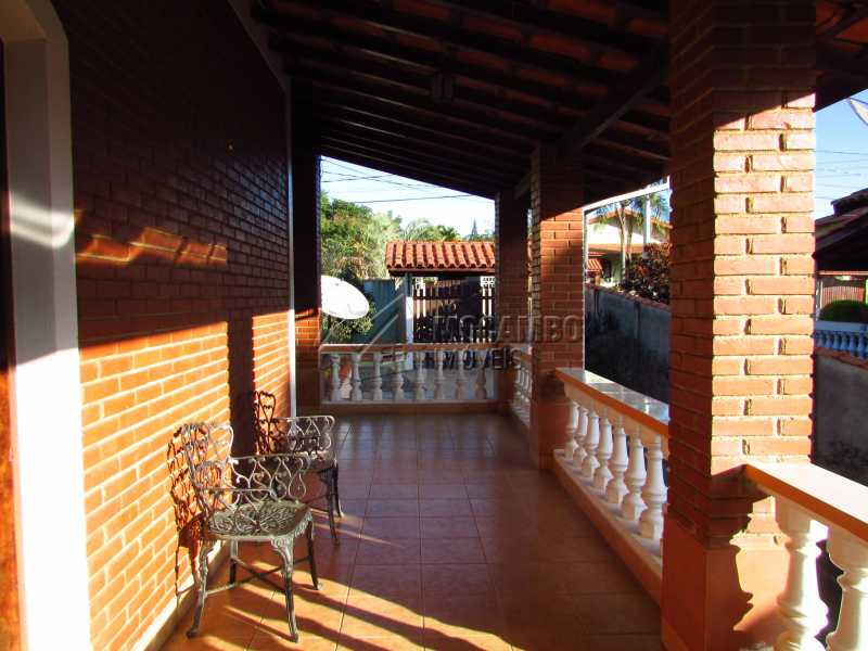 Varanda - Casa em Condomínio 4 Quartos À Venda Itatiba,SP - R$ 850.000 - FCCN40106 - 14