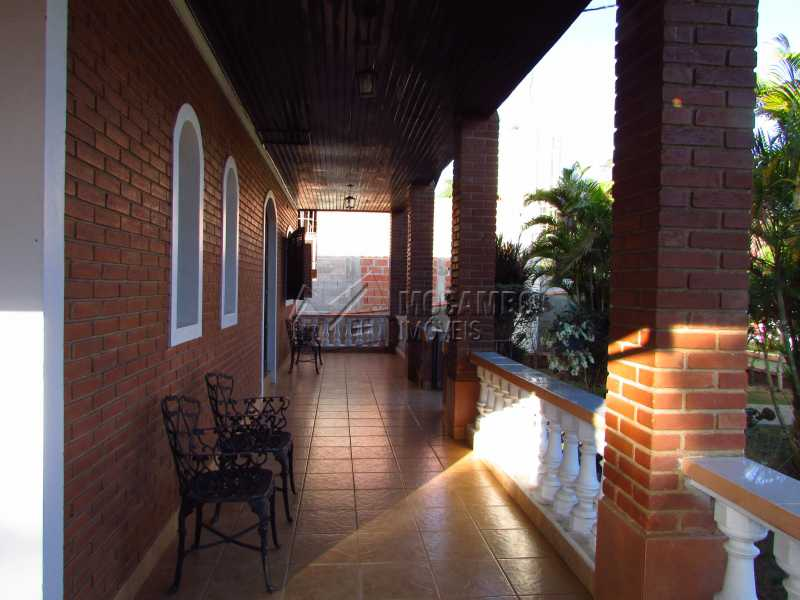 Varanda - Casa em Condomínio 4 Quartos À Venda Itatiba,SP - R$ 850.000 - FCCN40106 - 15