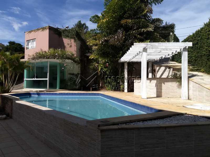 Área Externa - Casa em Condominio Para Alugar - Itatiba - SP - Bairro do Engenho - FCCN30328 - 1