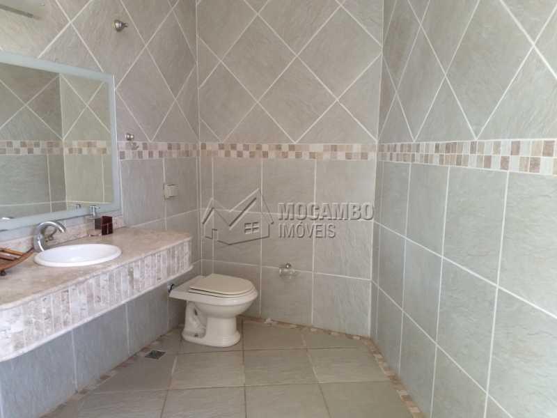 Banheiro Social - Casa em Condominio Para Alugar - Itatiba - SP - Bairro do Engenho - FCCN30328 - 20