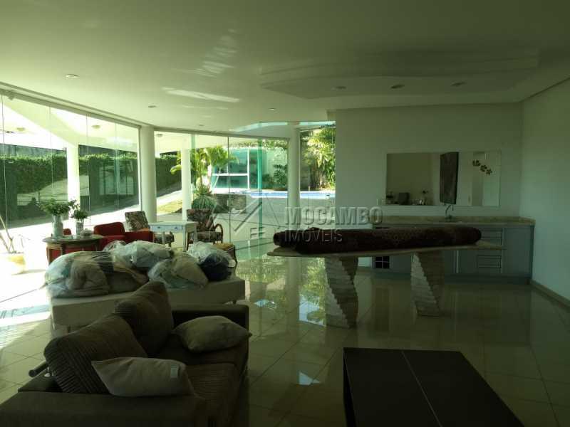 Sala - Casa em Condominio Para Alugar - Itatiba - SP - Bairro do Engenho - FCCN30328 - 8
