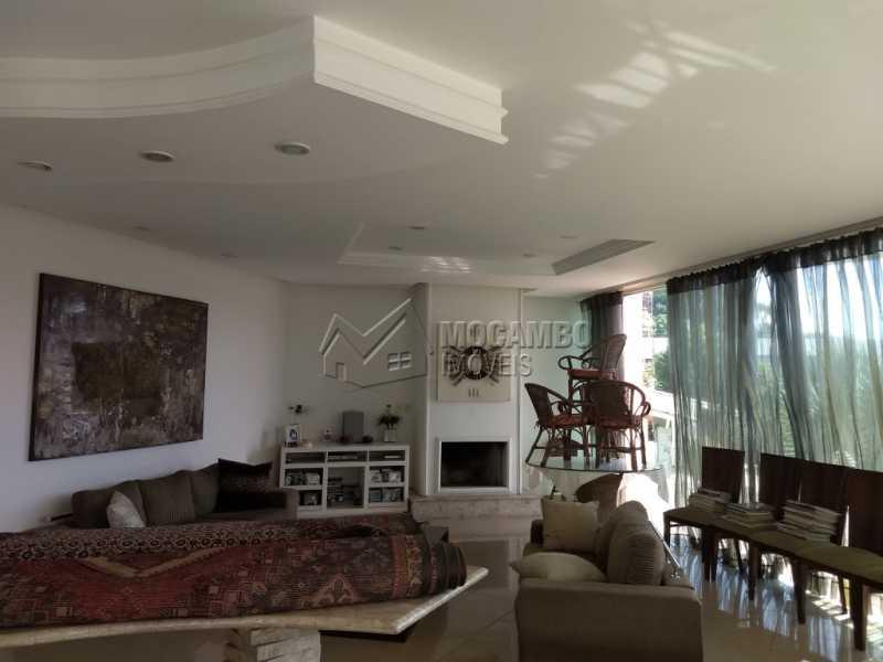 Sala - Casa em Condominio Para Alugar - Itatiba - SP - Bairro do Engenho - FCCN30328 - 7