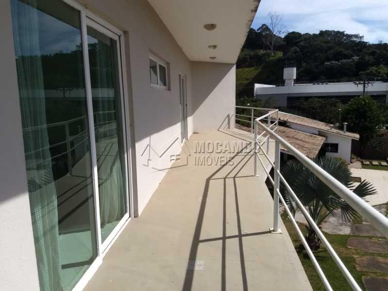 Varanda - Casa em Condominio Para Alugar - Itatiba - SP - Bairro do Engenho - FCCN30328 - 21