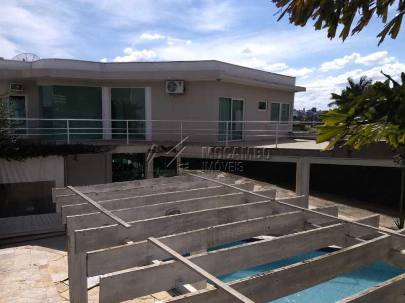 Área Externa - Casa em Condominio Para Alugar - Itatiba - SP - Bairro do Engenho - FCCN30328 - 5