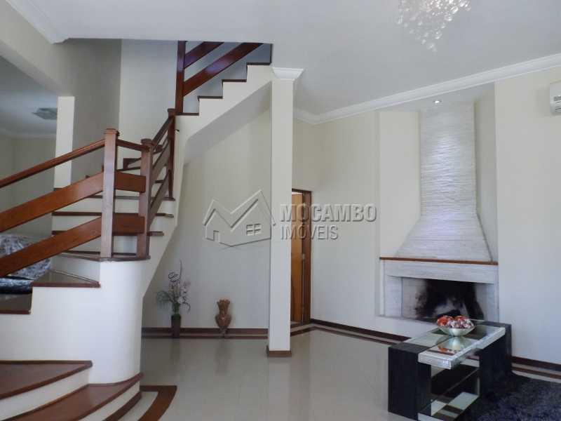 SALA DE ESTAR - Casa À Venda no Condomínio Ville Chamonix - Jardim Nossa Senhora das Graças - Itatiba - SP - FCCN40110 - 6