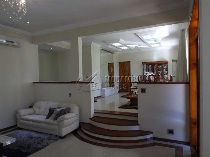 SALA DE ESTAR - Casa À Venda no Condomínio Ville Chamonix - Jardim Nossa Senhora das Graças - Itatiba - SP - FCCN40110 - 9