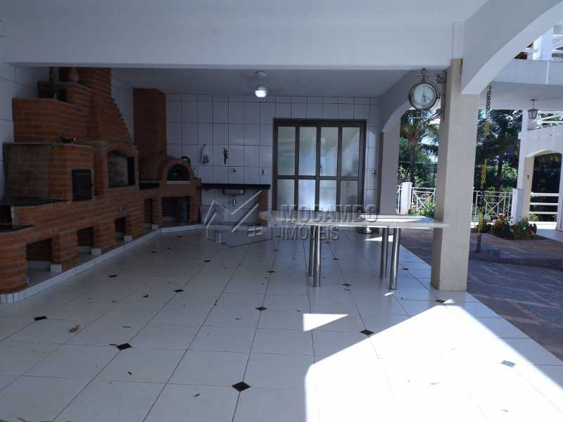 ÁREA GOURMET - Casa À Venda no Condomínio Ville Chamonix - Jardim Nossa Senhora das Graças - Itatiba - SP - FCCN40110 - 24