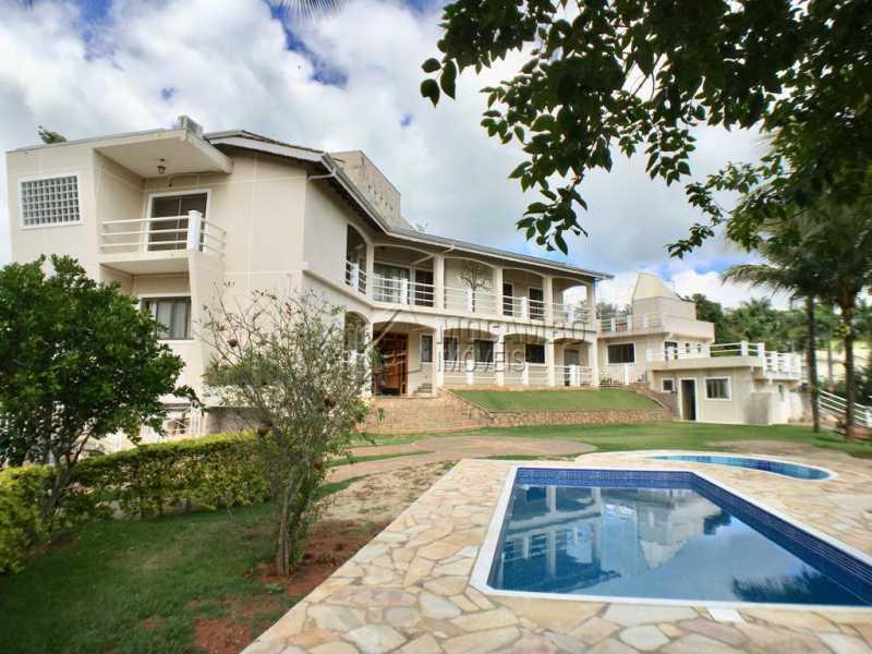 ÁREA EXTERNA - Casa em Condominio À Venda - Itatiba - SP - Ville Chamonix - FCCN40110 - 1