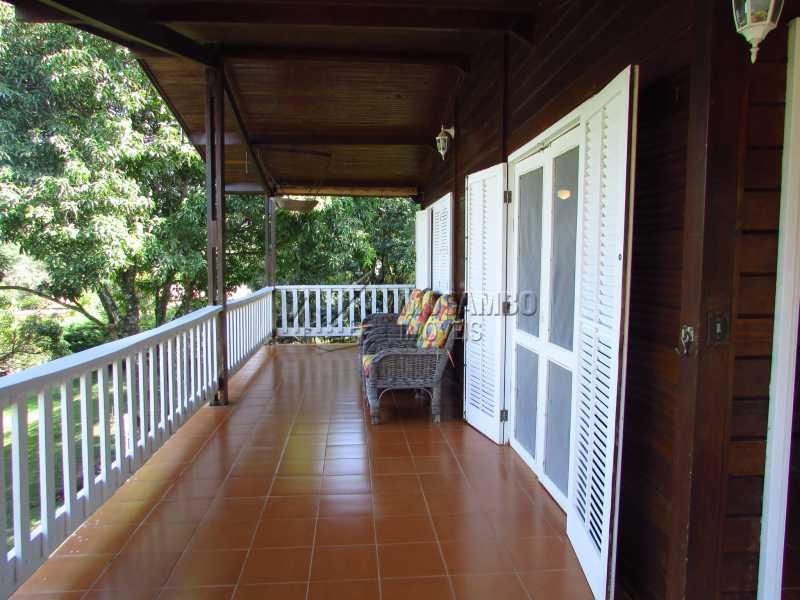 Varanda - Casa em Condomínio 5 quartos à venda Itatiba,SP - R$ 950.000 - FCCN50020 - 17