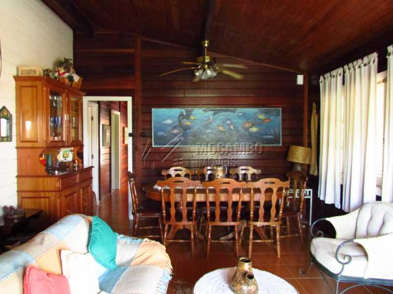 Sala de jantarestar - Casa em Condomínio 5 quartos à venda Itatiba,SP - R$ 950.000 - FCCN50020 - 10