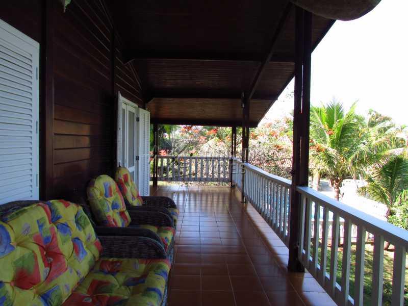 Varanda - Casa em Condomínio 5 quartos à venda Itatiba,SP - R$ 950.000 - FCCN50020 - 18