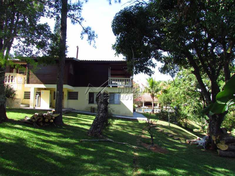 Lateral - Casa em Condomínio 5 quartos à venda Itatiba,SP - R$ 950.000 - FCCN50020 - 26