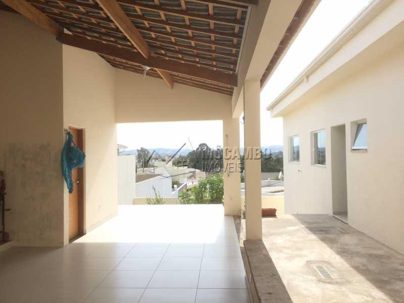 Área de churrasqueira - Casa em Condomínio 3 quartos à venda Itatiba,SP - R$ 1.400.000 - FCCN30330 - 20