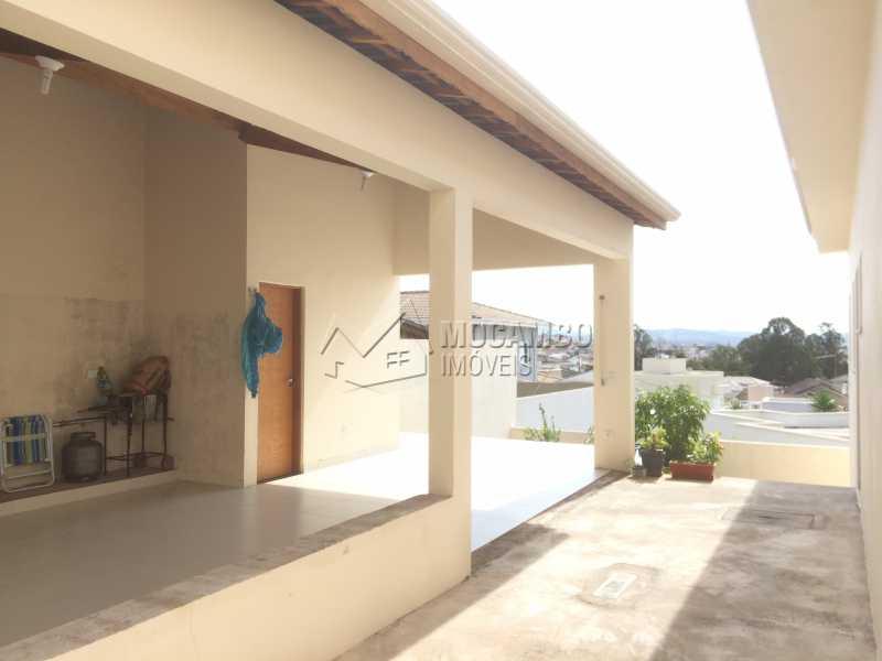 Área de churrasqueira - Casa em Condomínio 3 quartos à venda Itatiba,SP - R$ 1.400.000 - FCCN30330 - 21