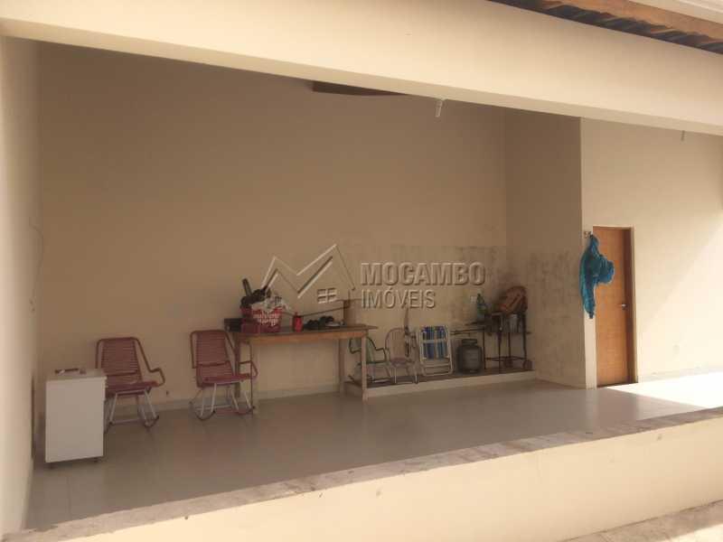 Área de churrasqueira - Casa em Condomínio 3 quartos à venda Itatiba,SP - R$ 1.200.000 - FCCN30330 - 22