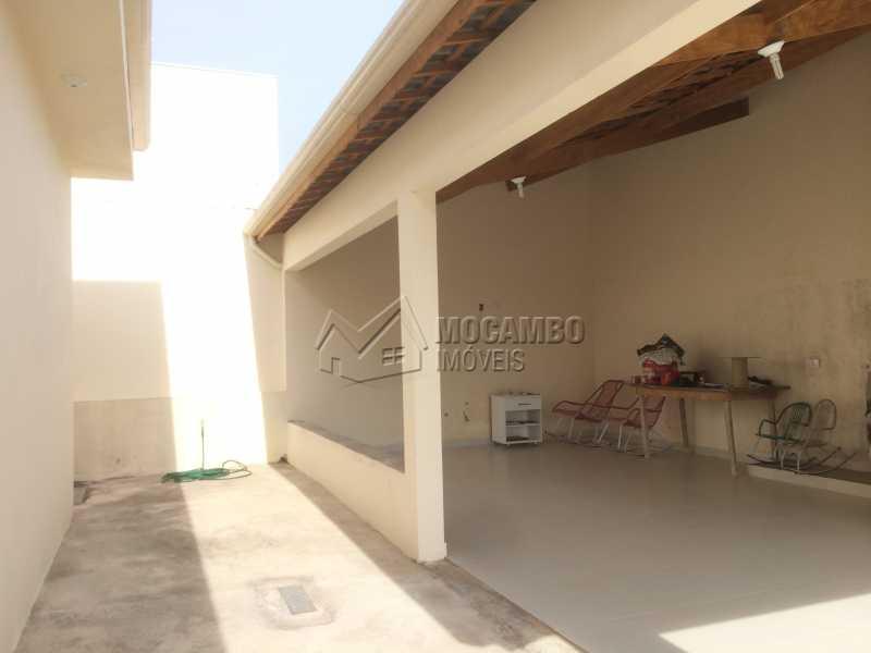 Área de churrasqueira - Casa em Condomínio 3 quartos à venda Itatiba,SP - R$ 1.200.000 - FCCN30330 - 23