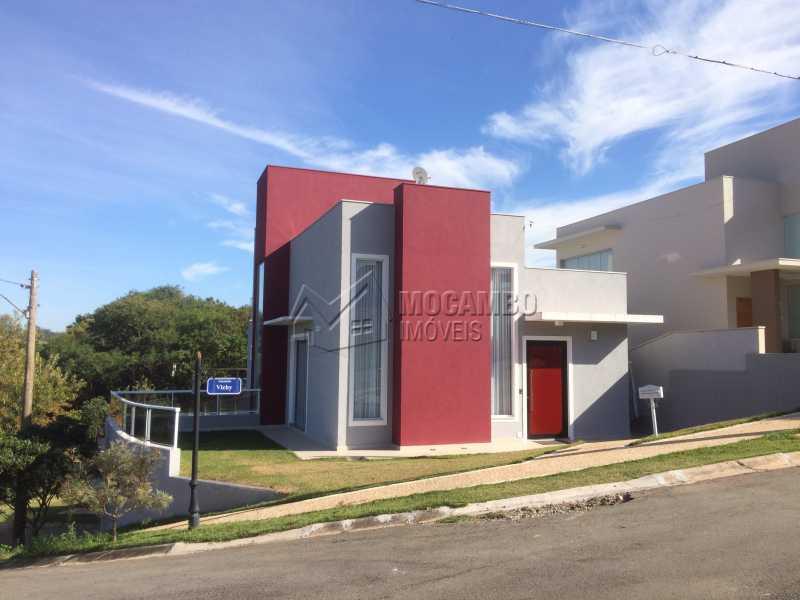 Fachada - Casa em Condominio em condomínio À Venda - Condomínio Ville de France - Itatiba - SP - Jardim Nossa Senhora das Graças - FCCN30333 - 1