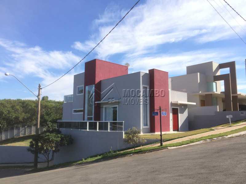 Fachada - Casa em Condominio em condomínio À Venda - Condomínio Ville de France - Itatiba - SP - Jardim Nossa Senhora das Graças - FCCN30333 - 3