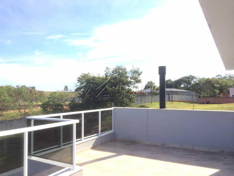 Terraço - Casa em Condominio em condomínio À Venda - Condomínio Ville de France - Itatiba - SP - Jardim Nossa Senhora das Graças - FCCN30333 - 25