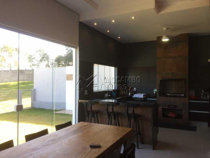 Espaço gourmet - Casa em Condominio em condomínio À Venda - Condomínio Ville de France - Itatiba - SP - Jardim Nossa Senhora das Graças - FCCN30333 - 27