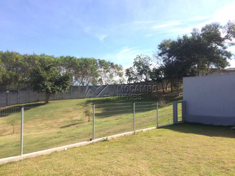 Quintal - Casa em Condominio em condomínio À Venda - Condomínio Ville de France - Itatiba - SP - Jardim Nossa Senhora das Graças - FCCN30333 - 30