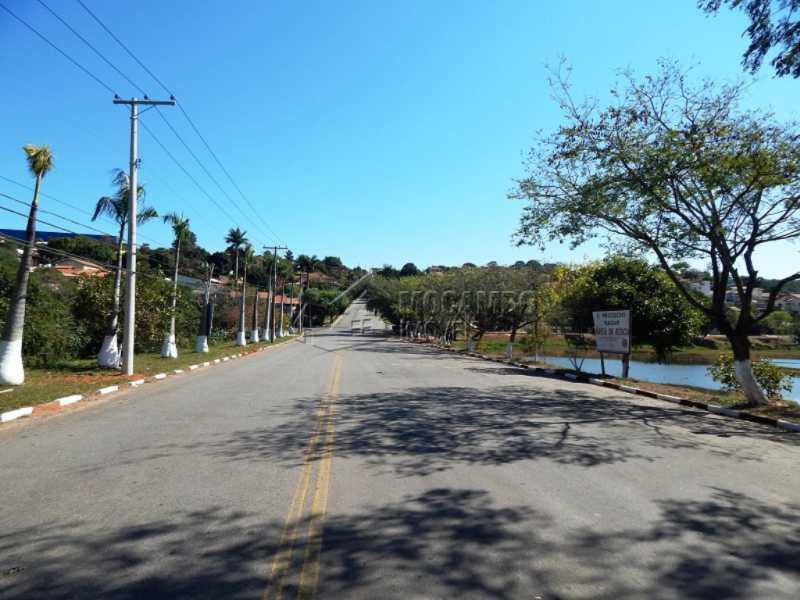 Vista rua principal do bairro - Terreno 1000m² à venda Itatiba,SP - R$ 200.000 - FCUF01060 - 8