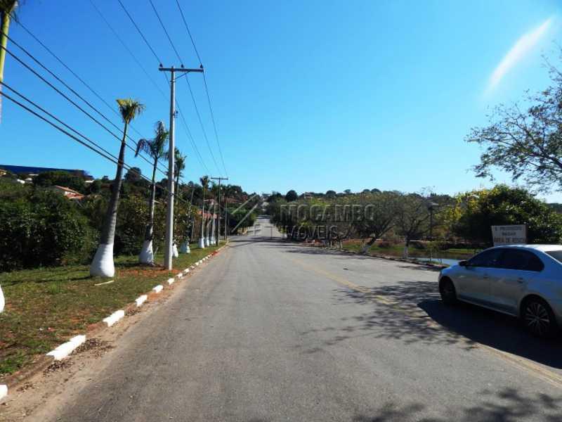 Vista rua principal do bairro - Terreno 1000m² à venda Itatiba,SP - R$ 200.000 - FCUF01060 - 10