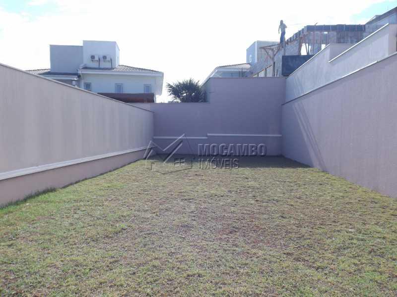 Quintal - Casa em Condomínio 3 quartos à venda Itatiba,SP - R$ 730.000 - FCCN30337 - 16