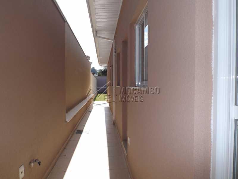 Corredor Lateral - Casa em Condomínio 3 quartos à venda Itatiba,SP - R$ 730.000 - FCCN30337 - 18