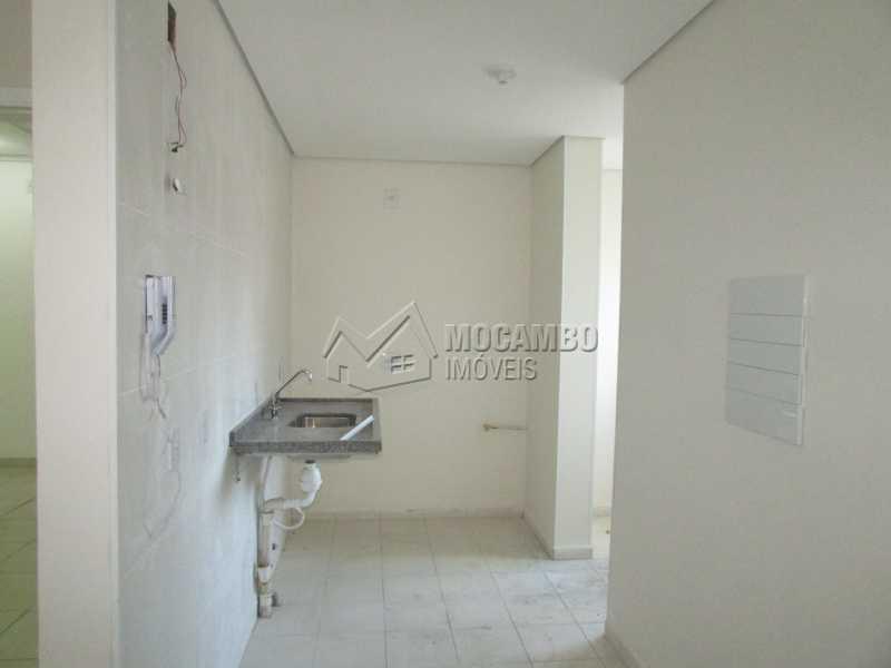Cozinha e Lavanderia - Apartamento À Venda Itatiba,SP Bairro da Ponte - R$ 180.000 - FCAP00045 - 3