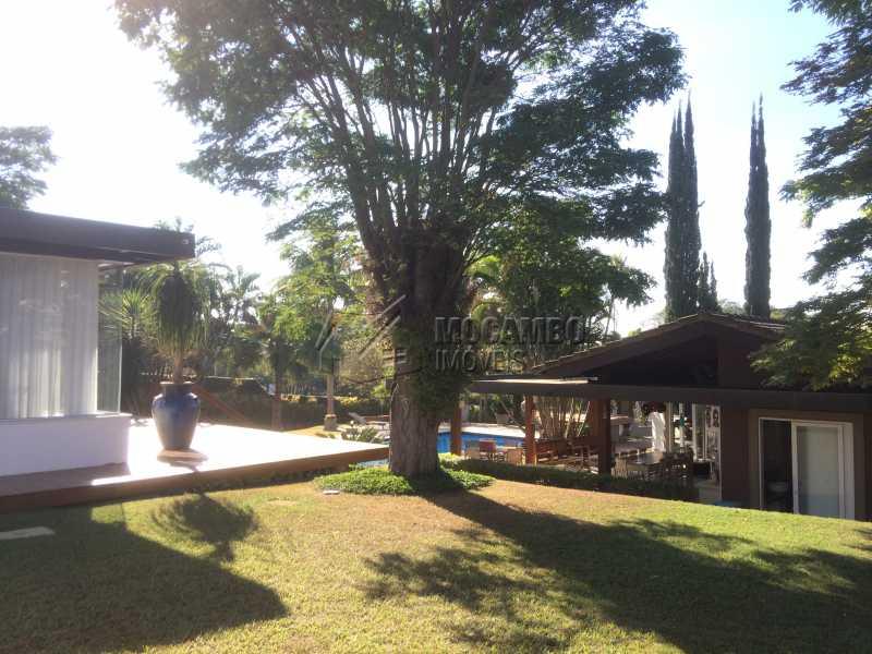 Área externa - Casa em Condomínio 5 Quartos À Venda Itatiba,SP - R$ 2.700.000 - FCCN50022 - 11