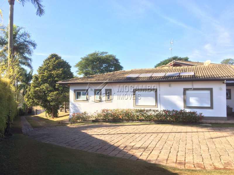 Acesso garagem - Casa em Condomínio 5 Quartos À Venda Itatiba,SP - R$ 2.700.000 - FCCN50022 - 14