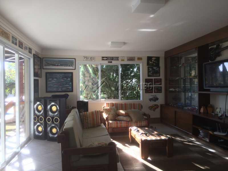 Sala estar do espaço gourmet - Casa em Condomínio 5 Quartos À Venda Itatiba,SP - R$ 2.700.000 - FCCN50022 - 8