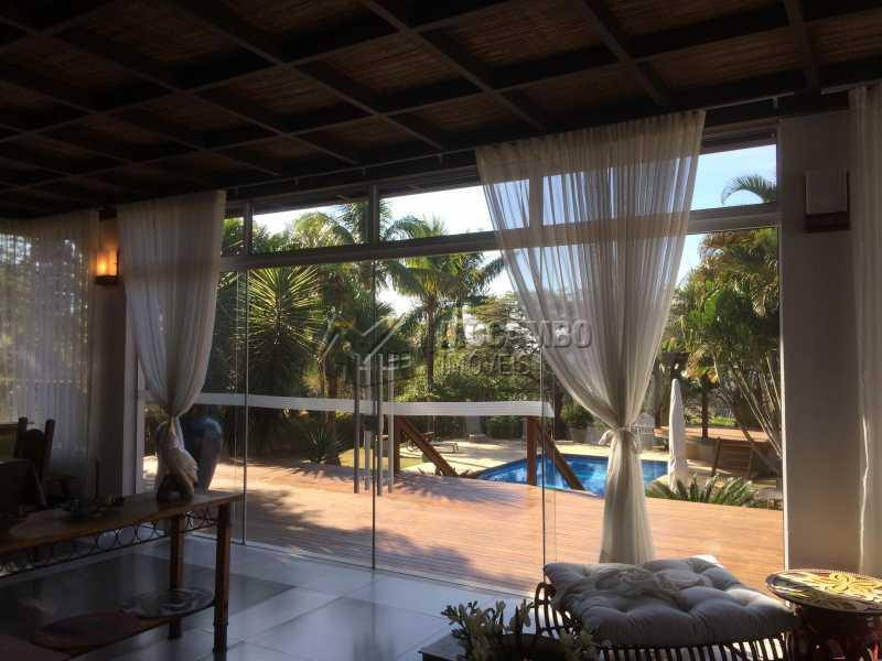 Sala estar - Casa em Condomínio 5 Quartos À Venda Itatiba,SP - R$ 2.700.000 - FCCN50022 - 17