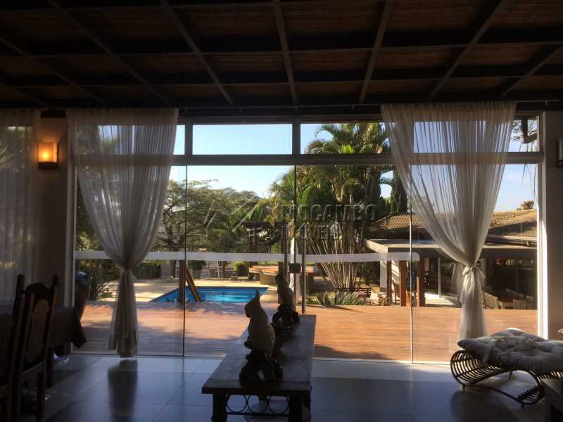 Sala estar - Casa em Condomínio 5 Quartos À Venda Itatiba,SP - R$ 2.700.000 - FCCN50022 - 16