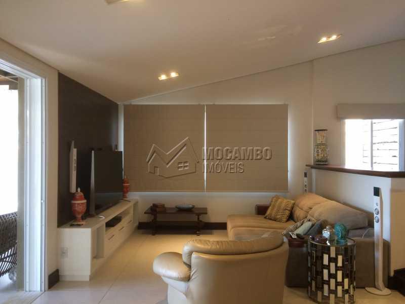 Sala TV - Casa em Condomínio 5 Quartos À Venda Itatiba,SP - R$ 2.700.000 - FCCN50022 - 19