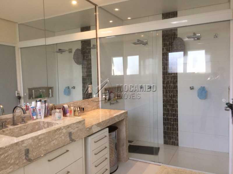 Banheiro suíte principal - Casa em Condomínio 5 Quartos À Venda Itatiba,SP - R$ 2.700.000 - FCCN50022 - 26