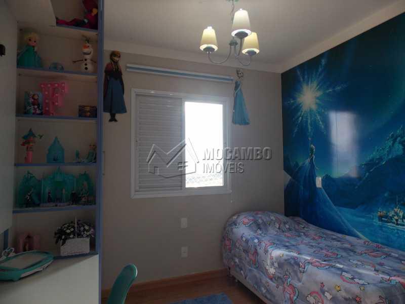 Dormitório - Apartamento Condomínio Edifício Raritá, Itatiba, Centro,Vila Santa Cruz, SP À Venda, 3 Quartos, 120m² - FCAP30436 - 5